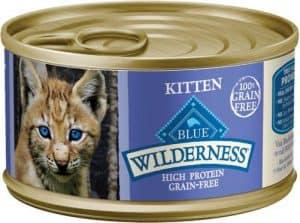 blue buffalo kitten food